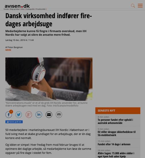 Artikel fra Avisen.dk